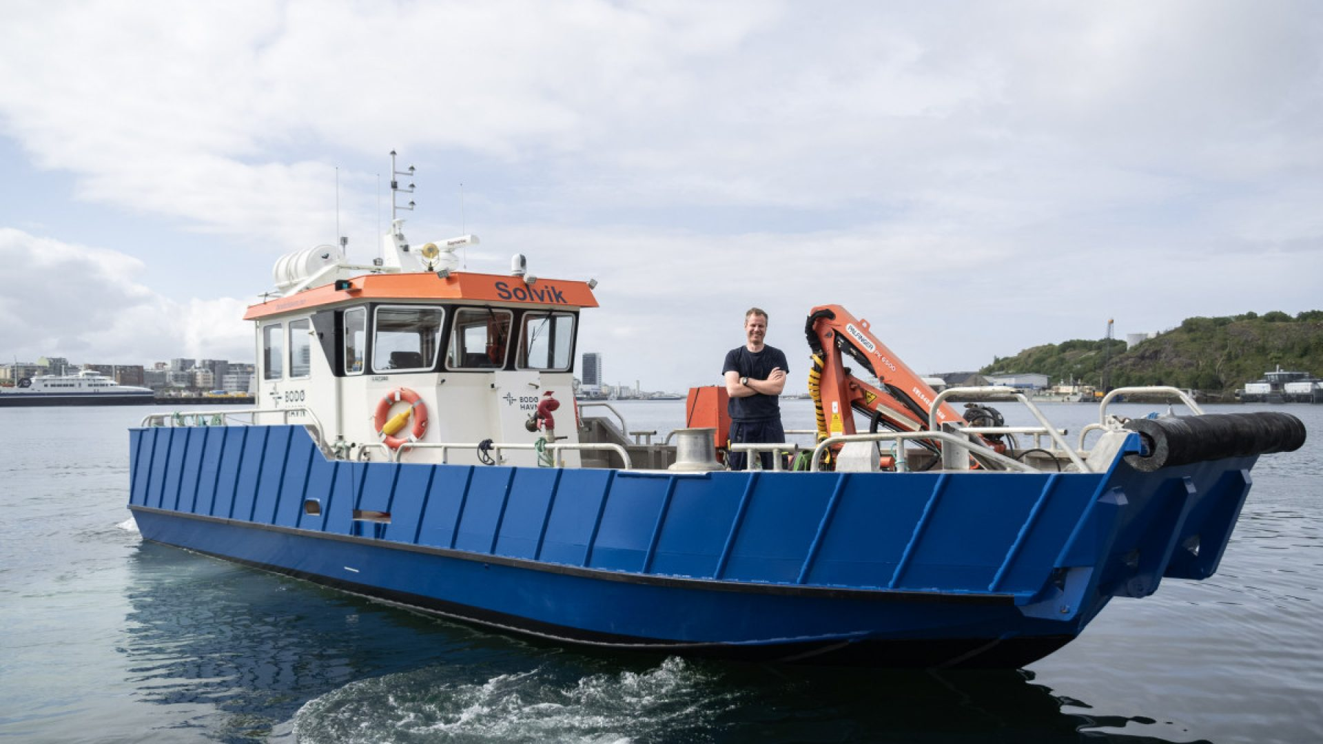 Havnebåten Solvik